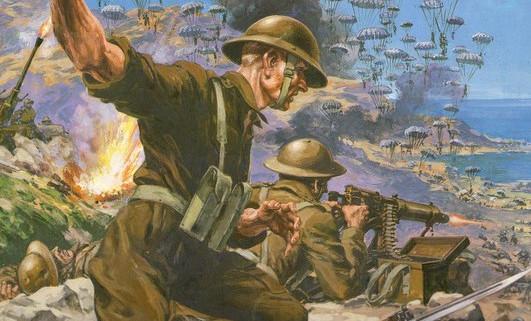 Fragment okładki gry Kreta 1941